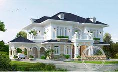 Mẫu biệt thự nhà vườn 2 tầng sau đây là công trình của Kiến An Vinh thiết kế ở tỉnh Đồng Nai, phong cách Pháp đẹp sang trọng không một ai có thể cưỡng lại được với vẽ đẹp kiêu sa lộng lẫy này, chủ …