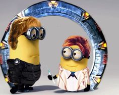 Stargate SG-1's Sam and Janet Minions ... there are no words for this cuteness