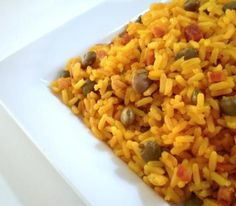I get a ton of requests for my Puerto Rican style yellow rice and over the years I have mastered this recipe. - CrockPot