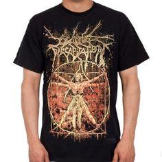 OFFICIAL ~ CATTLE DECAPITATION Vitruvian T-Shirt