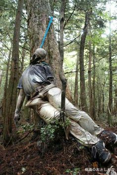 Death in the depths of Japan's Suicide Forest are sad, gruesome and can be prevented a bit better by the government. This is awful and so tragic.