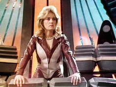 Sally Knyvette will be joining the Blake's 7 reunion at BritSciFi on 01 March. Sci Fi Tv Series, Sci Fi Tv Shows, Bbc Tv Series, Science Fiction Tv Shows, Fiction Film, Sally Knyvette, Original Tv Series, The Originals Tv, Sci Fi Films