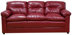 6375 Piedmont Long Horn Red Sofa and Loveseat - JUST $599!  Available in Other Colors.  http://www.furnitureurban.com