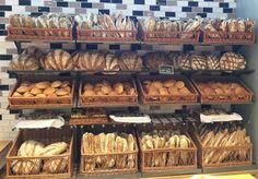 La Panetteria: uma variedade grande de pães, mas a grande estrela são as focaccias