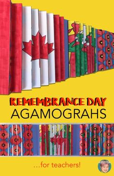 A truly unique remembrance day art project for students and teachers.