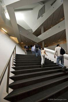 Denver Art Museum - interior staircase