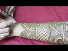 Mehandi Design Back Hand Video 23 - ILoveMehandi.TV - YouTube