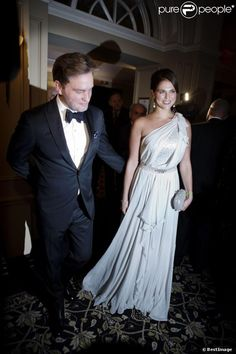 Princess Madeleine and Chris O'Neill attended their first official engagement together in New York.