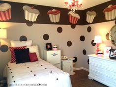 Kristin Plansky Murals | Cupcake Room