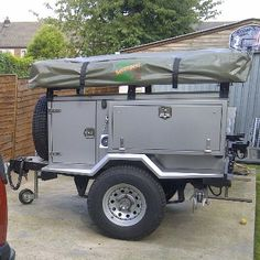 Sankey based expedition trailer. Only 6K, only?