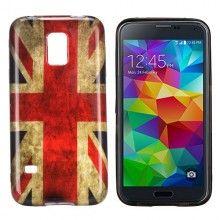 Funda Gel Samsung Galaxy S5 mini Design Bandera UK 1 $5.990,00
