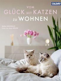 """""""Vom Glück mit Katzen zu wohnen"""" ist ein wunderschönes Tablebook, in dem man immer wieder blättern kann, um in Geschichten über faszinierenden Vierbeiner und ihre berühmten menschlichen Mitbewohner zu schwelgen, umrahmt von ausnehmend kreativen Lebensräumen."""