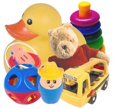 Stop spending excessive amounts of money on baby toys! Babies will play with anything!