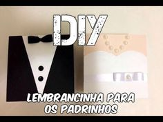 DIY | Caixinha dos padrinhos