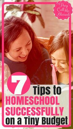 7 Tips to Homeschool