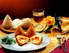 Итальянские рисовые шарики с начинкой (Arancino — Аранчини)