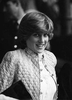 July 3, 1981: Lady Diana Spencer at Wimbledon.