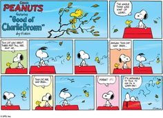 """Peanuts"" by Charles Schulz, originally published on October 2, 1950 is one of the most popular cartoon strips. This brought popularity to its characters, such as Charlie Brown, Lucy and Snoopy the dog. Comic strips have helped newspaper survival because of its popularity, and although Peanut's creator died in 2000, it is still printed in newspapers today."