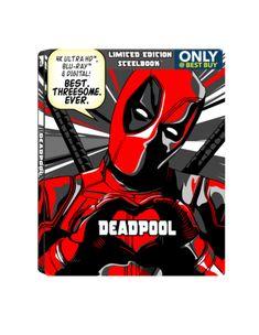 DEADPOOL Celebrates 2nd Anniversary By Photobombing Other Blu-rays | Nerdist