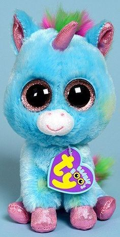 Ty Beanie Boos Treasure Unicorn, the only unicorn beanie boo I do not have, because it now costs over $300