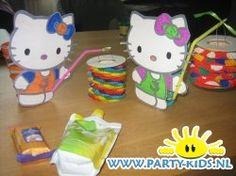 Afbeelding van Hello Kitty met lampion