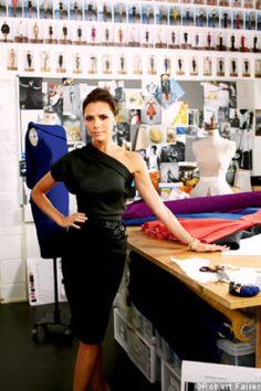 Victoria Beckham is a hard working hottie!!