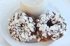 Maria's Nutritious and Delicious Journal: Almond Joy Donuts