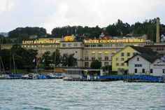 Lindt Chocolate Factory in Zurich, Switzerland- A favorite place of mine...visited four times :)