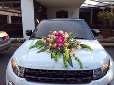 Arreglo para carro de novia