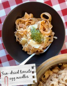 Thermomix egg noodles