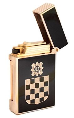 WinJet Steinfeuerzeug, NDH Wappen, Grb NDH, black gold designed by franicon http://www.amazon.de/dp/B00X7SMSNY/ref=cm_sw_r_pi_dp_JSHsvb0SEXCRR