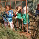 Albino boy in Soweto