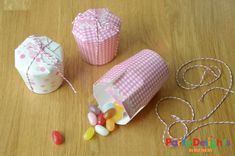 Paper Cup Crafts - Simple Treat Box DIY