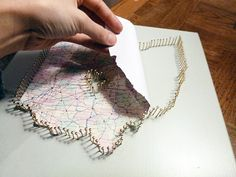 How to:  map string art project