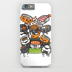 Sushi Party iPhone & iPod Case