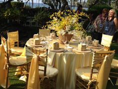 #Wedding #reception at #SheratonKona on the lawn. HTE 2012 #lttravelconnection #destinationweddingplanner #romancetravel ##honeymoondesigner #travel #travelagent