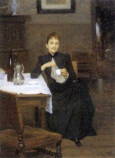 Victor Gilbert - L'heure du thé