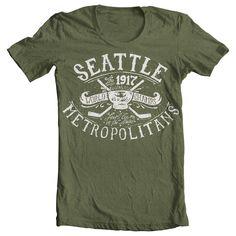 Seattle Metropolitans | Homers Fan-Made Apparel