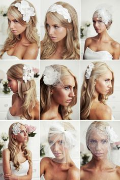 gorgeous #wedding #hair pieces ideas