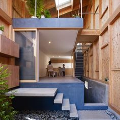 Very Creative Wooden House in Seya, Japan by Suppose Design Office