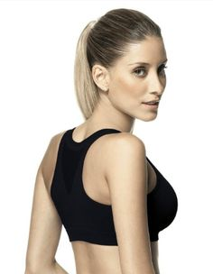 Lupo Womens Top Dynamic Sports Bra Black Small * Click on the image for additional details.