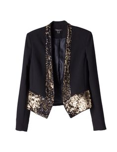 chaquetas dama buscar con google blazer negro y blanco chaquetas de ...
