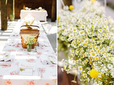 Picnic wedding - be sure to check out the website for more great photos. Sometimes its all about getting the right location to make your wedding theme a success