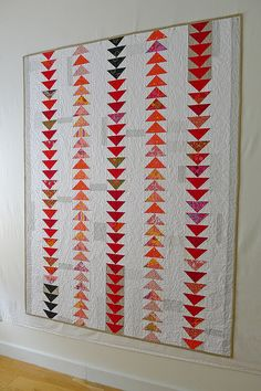 lily quilt wall
