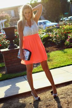 Blogger BFF @Shelia Said He Said Fashion Blog embraces the spring season with this lovely Charlotte Russe dress!