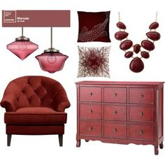 Marsala | Color of 2015 and how to incorporate it