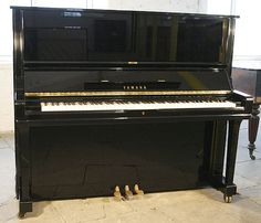 A 1984, Yamaha U3 upright piano with a black case and polyester finish at Besbrode Pianos £3500. http://www.besbrodepianos.co.uk/piano-sale/yamaha-u3-upright-piano-2.htm