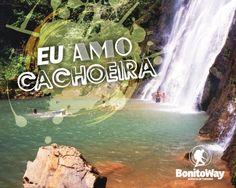 Para quem ama cachoeira!  Foto: Boca da Onça - Bodoquena/MS  #euamocachoeira