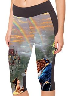 Disney Discovery- Assorted Disney Workout Capris
