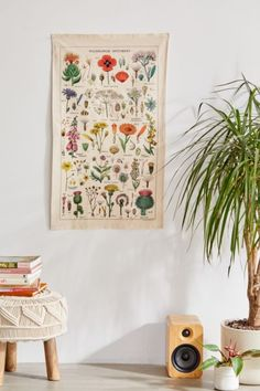 Shop Specimen Reference Flag Tapestry at Urban Outfitters today. We carry all the latest styles, colors and brands for you to choose from right here. Amazon Home Decor, Apartment Essentials, College Essentials, Magical Thinking, Cotton Textile, Rifle Paper, Duvet Sets, Comforter Set, Bedding